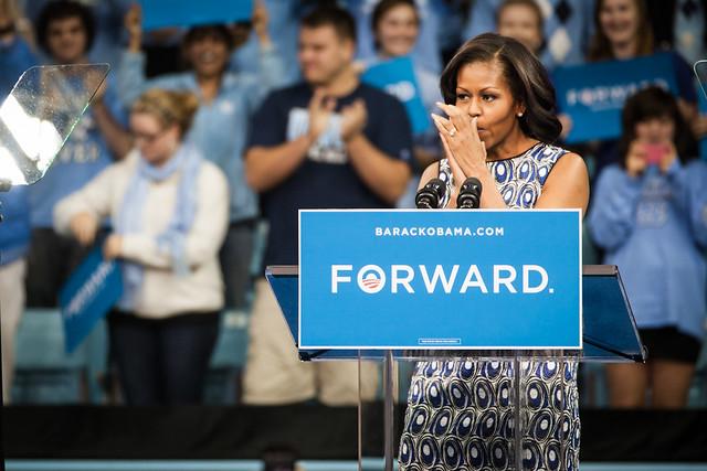 Michelle at UNC-1