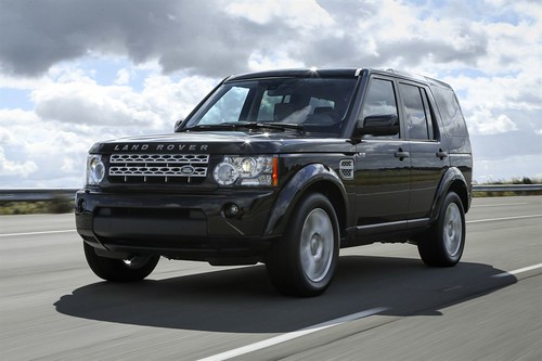Striking new look for the Land Rover LR4 13MY