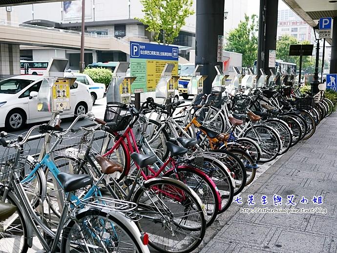 16 腳踏車收費停車格