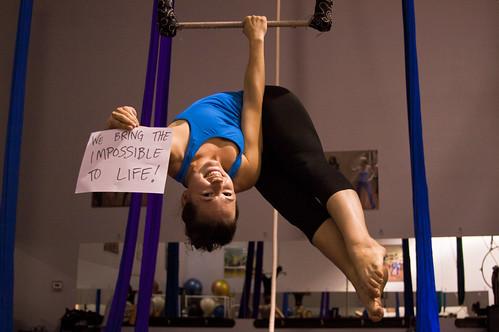 Lauren Breunig, Coach and Perfomer at Circus School Of Arizona