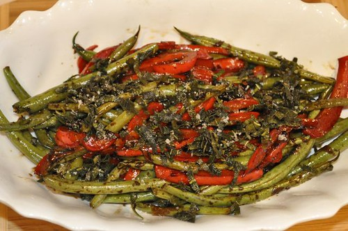 green beans with crispy sage 21