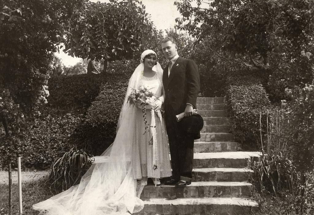 011---Wedding portrait of Klara Fejer and Alexander Steiner