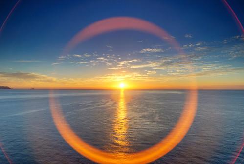 Circunferencias de amaneceres