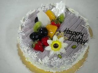 生日蛋糕 芋泥布丁