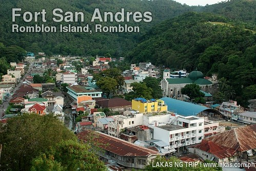 View of the town center of Romblon Island from Fort San Andres