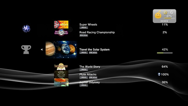 PS Vita Trophies on PS3
