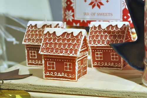Laura Ashley Gingerbread house candles