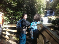 The Girls at Martin Creek Falls