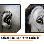 Ear Force EarBuds-colocacion