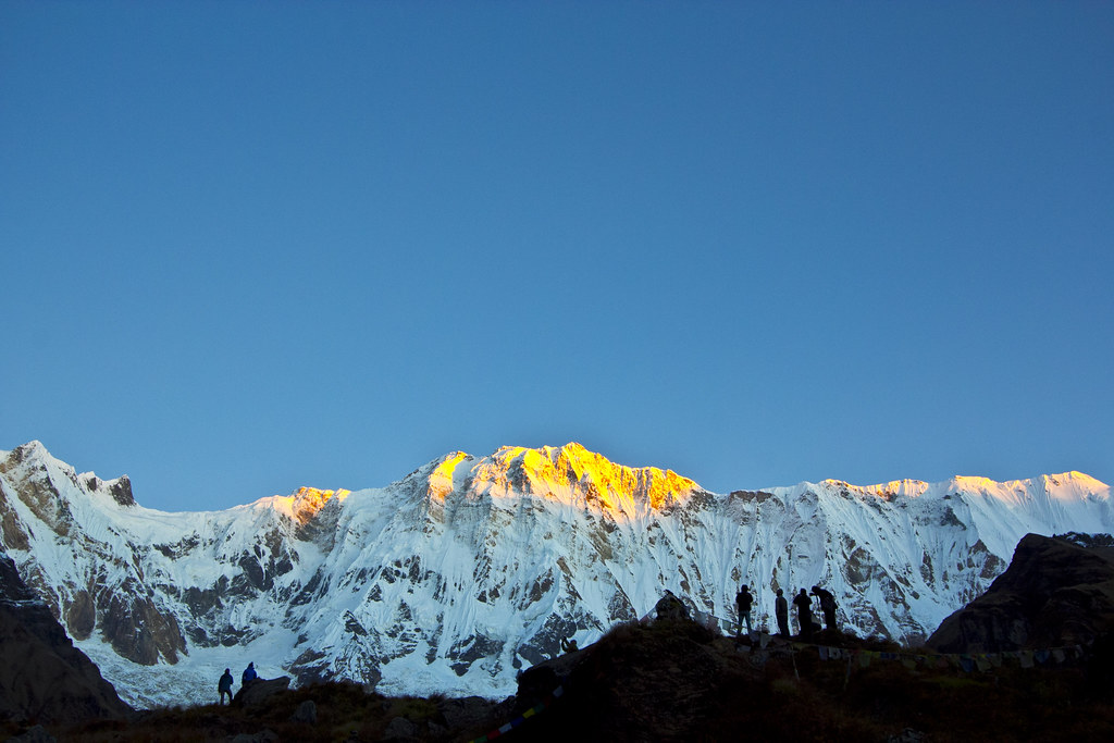Trekking in Annapurna Base Camp