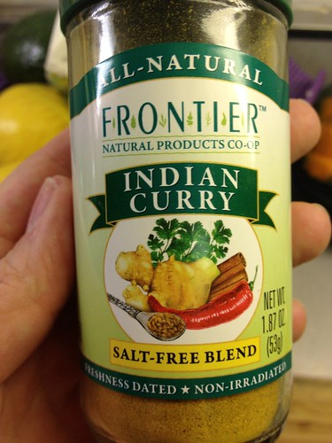 Indian curry spices by Frontier