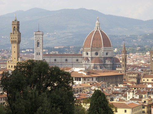 Santa Maria del Fiore as seen from Giardino Bardini