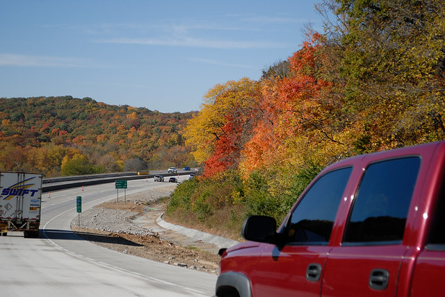 Fall Colors near Tyson Range on Interstate 44