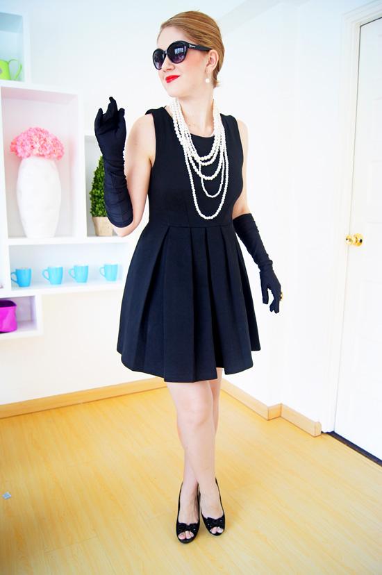 DIY Halloween Costume: Audrey Hepburn