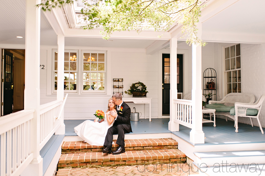 A sweet elopement at the Farmhouse at Veritas