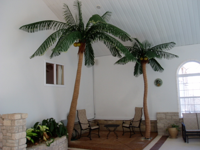 Indoor Artificial Palm Trees 2 Artificial Palm Trees Are