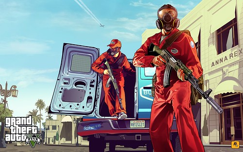 GTA 5: First Official Artwork Released - 'Pest Control'