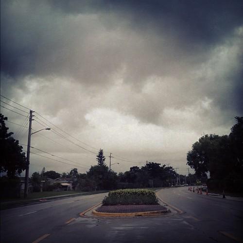 #Hurricane Sandy approaches #Tamarac! Let's all panic! I'm so over hurricane season this year!