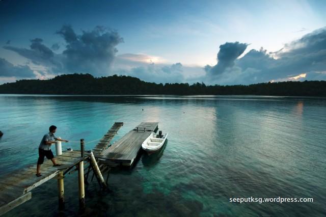 Dawn in Iboih Channel, Pulau Weh, Aceh, Indonesia