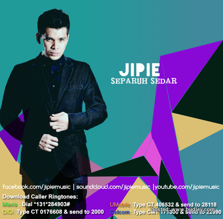 Vokalis Jipie Pesawat Lancar Lagu Separuh Sedar
