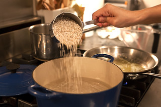 Cooking the barley