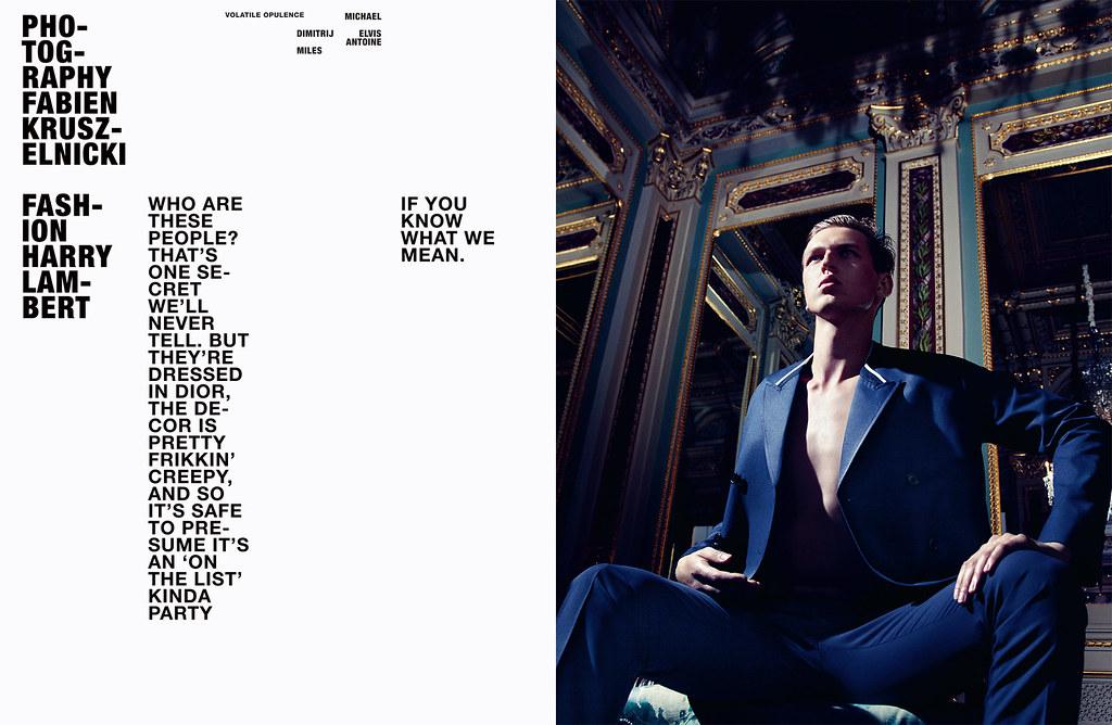 Elvis Jankus0041_HERO Magazine8_Michael Lange,Dimitrij Vysokolyan,Antoine Des Beauvais,Miles Berger