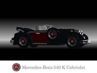 Mercedes-Benz 540 K Cabriolet - 1938