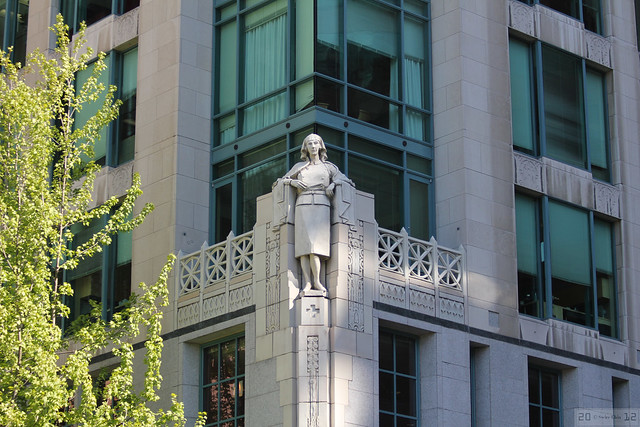 Cathedral Place's Nursing Sister Statue