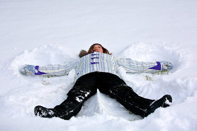 Snow Day – Snow Angel