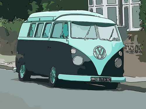 VW Camper by kenjonbro