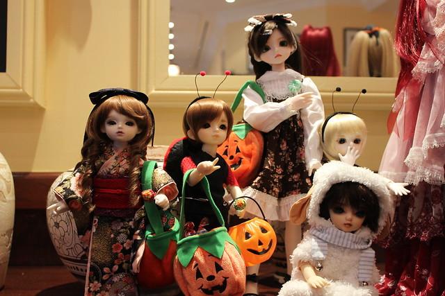 Lareine, Yukio, Eliza, Myles and Sora