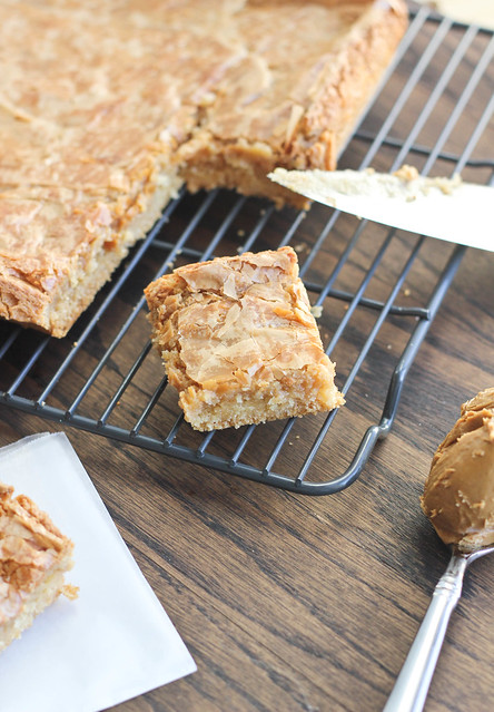 Biscoff Gooey Butter Cake recipe from Bake Your Day