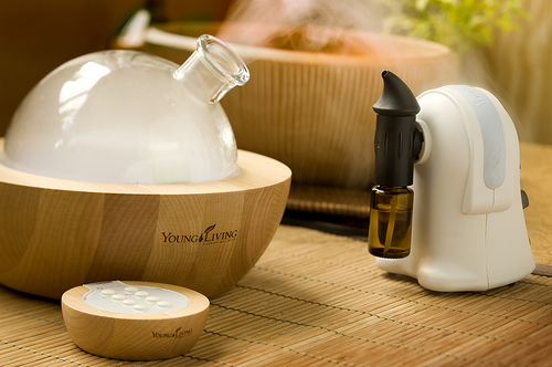 Aria diffuser and TheraPro Diffuser