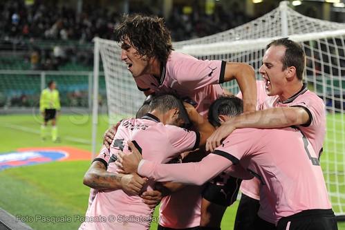 Siena-Palermo 2-3, siciliani in dieci per l'espulsione di Morganella$