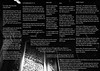 "MALAISE ""sick sad world"" lyrics sheet"