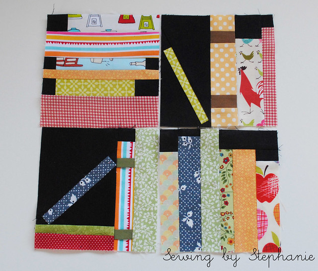 October Stash Bee Blocks
