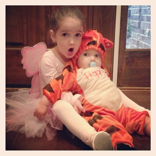 happy halloween from my fairy and my tigger!!