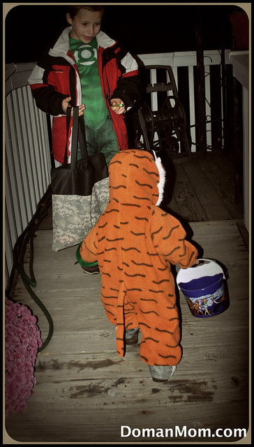 Did You Let Your Baby Walk This Halloween?