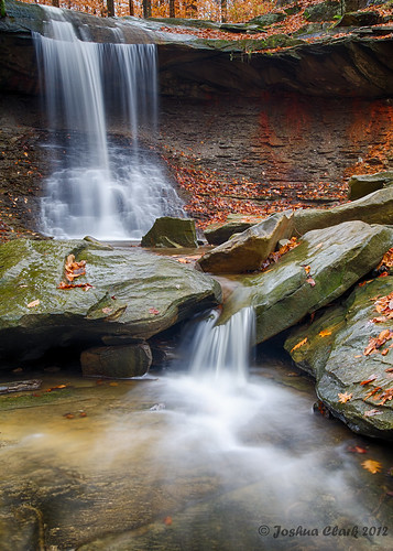 autumn ohio fall waterfall josh 1740mm cuyahogavalleynationalpark cvnp bluehenfalls joshuaclark canon7d momentsinnature