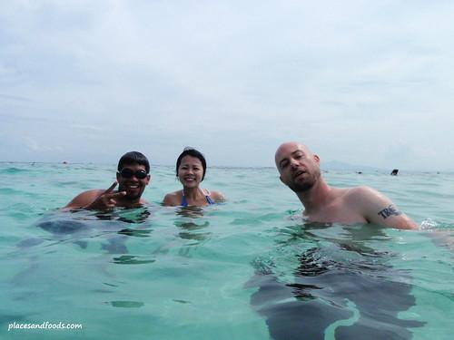phi phi bamboo island snorkel