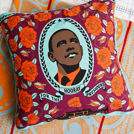 SHINE SHINE Obama Pillow Cover_The South Is Blooming