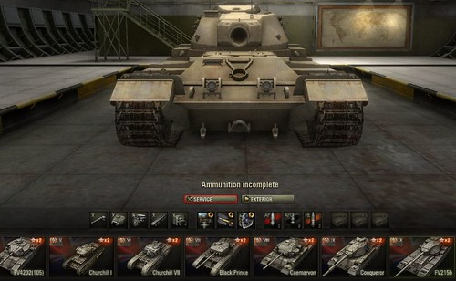 FV215b World of Tanks