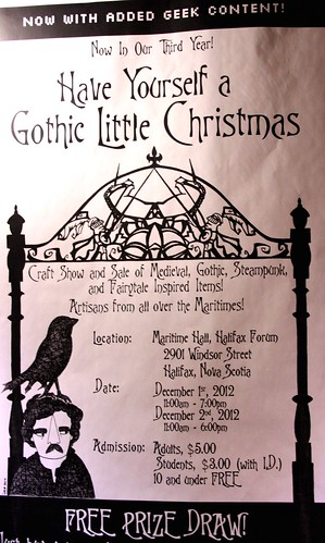 Hal-Con 2012 Have Yourself a Gothic/Geeky Little Christmas