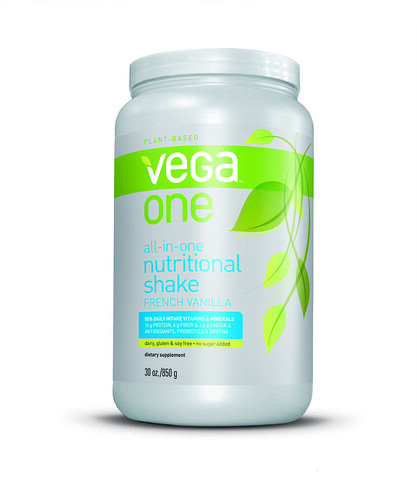 Pumpkin Pie Protein Smoothie & Vega One French Vanilla Nutritional Shake Giveaway