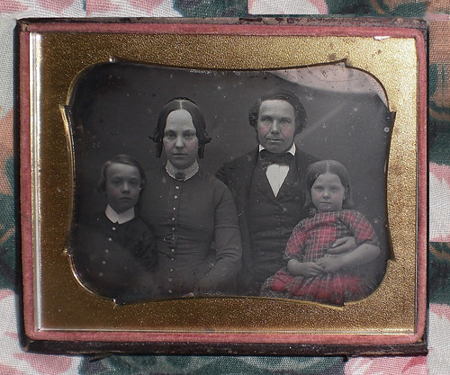 Mid 1840's Family 1/4 Plate