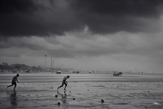 Against the wind | Chennai Marina Beach