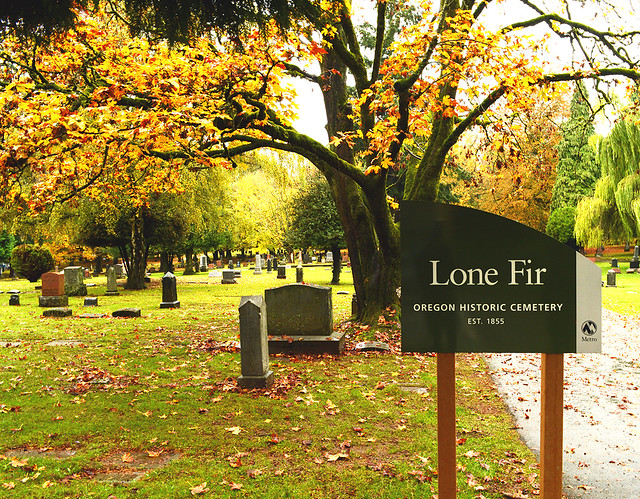 The Lone Fir Cemetery