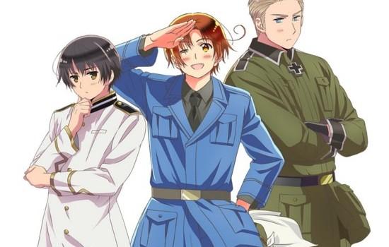 Nova Temporada do Anime Hetalia Estreia em Janeiro!