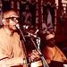 Swamis Atmananda and Vandanananda in the background.