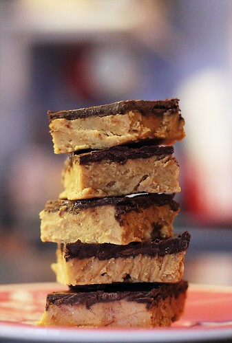 Chocolate Peanut Butter Bars II